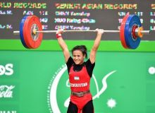 Муаттар Набиева завоевала серебряные медали международного турнира в Ташкенте