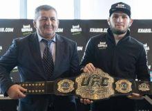 """Абдулманап Нурмагомедов: """"Хабиб энди UFC тарихидаги """"энг катта"""" жангда октагонга кўтарилади"""""""