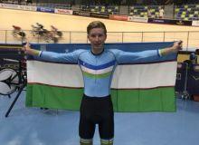 Очередная медаль в копилке Узбекистана на ЧА по велоспорту