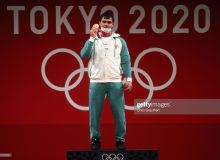 Photo gallery from the participation of Olympic champion Akbar Djuraev