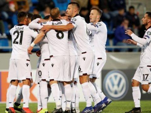 Андорра - Албания 0:3 (видео)