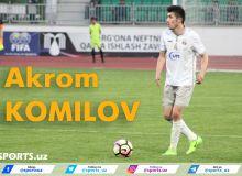 Акром Комилов: Премьер-лигада ўйнамоқчиман