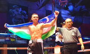 Улугбек Сабиров одержал 7 победу на профессиональном ринге