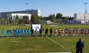 Первый этап женской высшей лиги завершён.