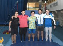 Сборная Узбекистана по гимнастике готовится к новым стартам