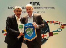 ЎФА вице-президенти Шоакром Исроилов ФИФА саммитида иштирок этди