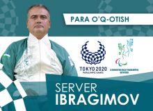 Сервер Ибрагимов успешно провёл отборочный этап в рамках Паралимпиады Токио-2020