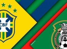Бразилия - Мексика. Тахминий таркиблар