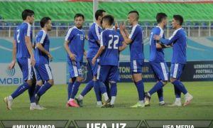 Национальная сборная Узбекистана в Ташкенте одолела Таджикистан (Видео)