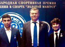 Бекзод Абдурахманов и Шомурод Шофайзиев награждены премией «Золотой мангуст-2018»