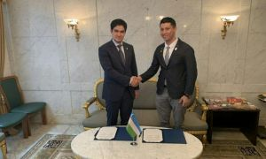 НОК и Ассоциация молодежи Узбекистана в Японии подписали меморандум