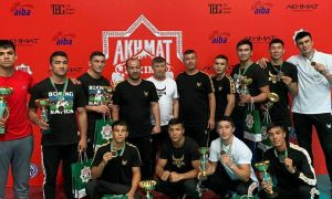Uzbek boxers earn eight medals in the Akhmat Hoji Kadyrov Memorial Boxing Tournament