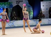 Наши представительницы по художественной гимнастике примут участие в Кубке Мира
