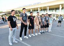 Uzbek boxers leave for Tokyo (photos)