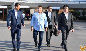 Президент Международной ассоциации кураша Хайдар Ферман прибыл в Ташкент