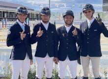 Представители сборной Узбекистана отбыли в Испанию для участия в финале Кубка Наций FEI
