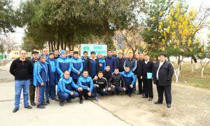 Представители Ассоциации футбола Узбекистана посетили Джизакскую область