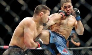 UFC Fight Night 152 турнирида Кевин Ли имкониятни бой берди ва бошқа натижалар