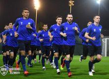 Национальная сборная Узбекистана продолжает подготовку к Кубку Азии в городе Шарджа