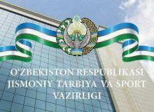 Jismoniy tarbiya va sport vazirligi logotipini yaratish bo'yicha tanlov o'tkaziladi