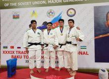 Очередные победы наших дзюдоистов в Азербайджане