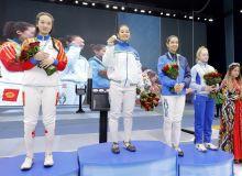 Uzbek fencers leading at Open Central Asia Fencing Confederation Championship in Tashkent