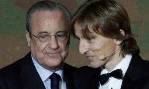 """Модрич """"Реал""""да қоладими? Клуб президенти бу саволга жавоб берди"""