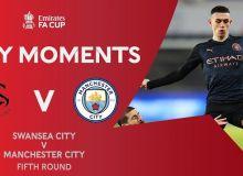"""""""Манчестер Сити"""" сафарда """"Суонси"""" дарвозасига 3 та гол урди (видео)"""