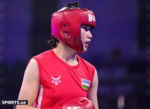Турсуной Рахимова стала первой девушкой Узбекистана, которая одержала победу по боксу на Олимпиаде