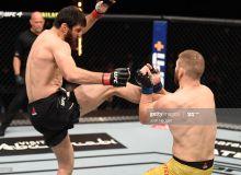 """UFC 254"". Хонтўраев калтаклаган жангчи нокаутга учради"