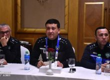 Умид Ахматджанов накануне матча с Оманом провёл встречу с членами национальной сборной Узбекистана
