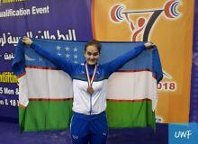 Турсуной Жабборова вошла в число призеров рейтингового турнира по тяжелой атлетике