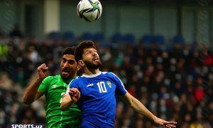 Uzbekistan receive a 1-0 defeat from Iraq in Tashkent