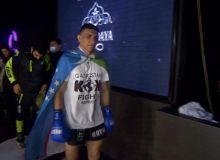 Uzbek fighter Bobur Tagiev won