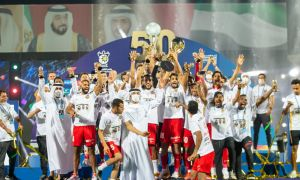 Uzbekistan's Masharipov, Ganiev and Khamrobekov win UAE League Cup with Shabab Al Ahli