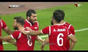 Иордания - Сурия 0:1 (видео)