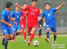 Сборная Узбекистана U-17 одержала победу над «Локомотивом»