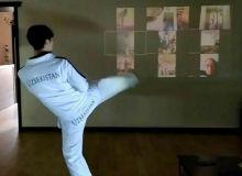 Таэквондочиларимиз онлайн машғулотлар олиб бормоқда (видео)