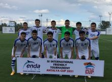 Наша молодёжная сборная обыграла представителей Казахстана на турнире в Анталии