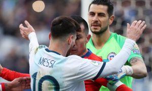 Чили - Аргентина 1:2 (видео)