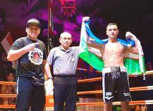 Профессионал боксчимиз Улуғбек Собиров фаолиятидаги 7-ғалабасини қўлга киритди