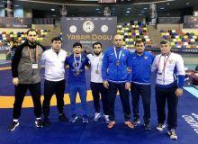 Наши вольники на международном турнире в Турции стартовали успешно