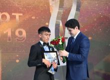Temur Giyazov earns the Best Paralympic Athlete of the Year award