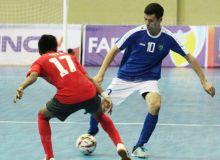Национальная сборная Узбекистана по футзалу начала участие в турнире в Индонезии с победы