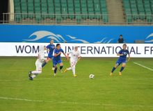 Женская сборная Узбекистана сыграла вничью с Ираном во втором товарищеском матче