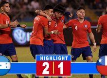 Гондурас - Чили 2:1 (видео)