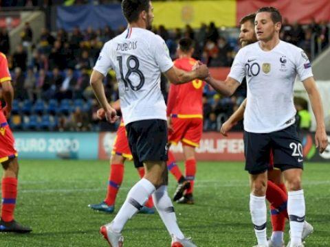 Андорра - Франция 0:4 (вижео)