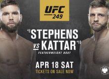 UFC 249. Стивенс ва Каттар қарама-қаршилиги бўлиб ўтади
