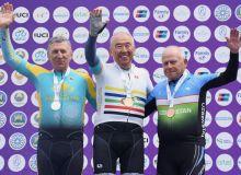 На ЧА по велоспорту ветеран Узбекистана стал призером
