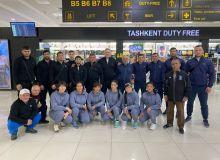 Наши борцы отбыли в Алматы